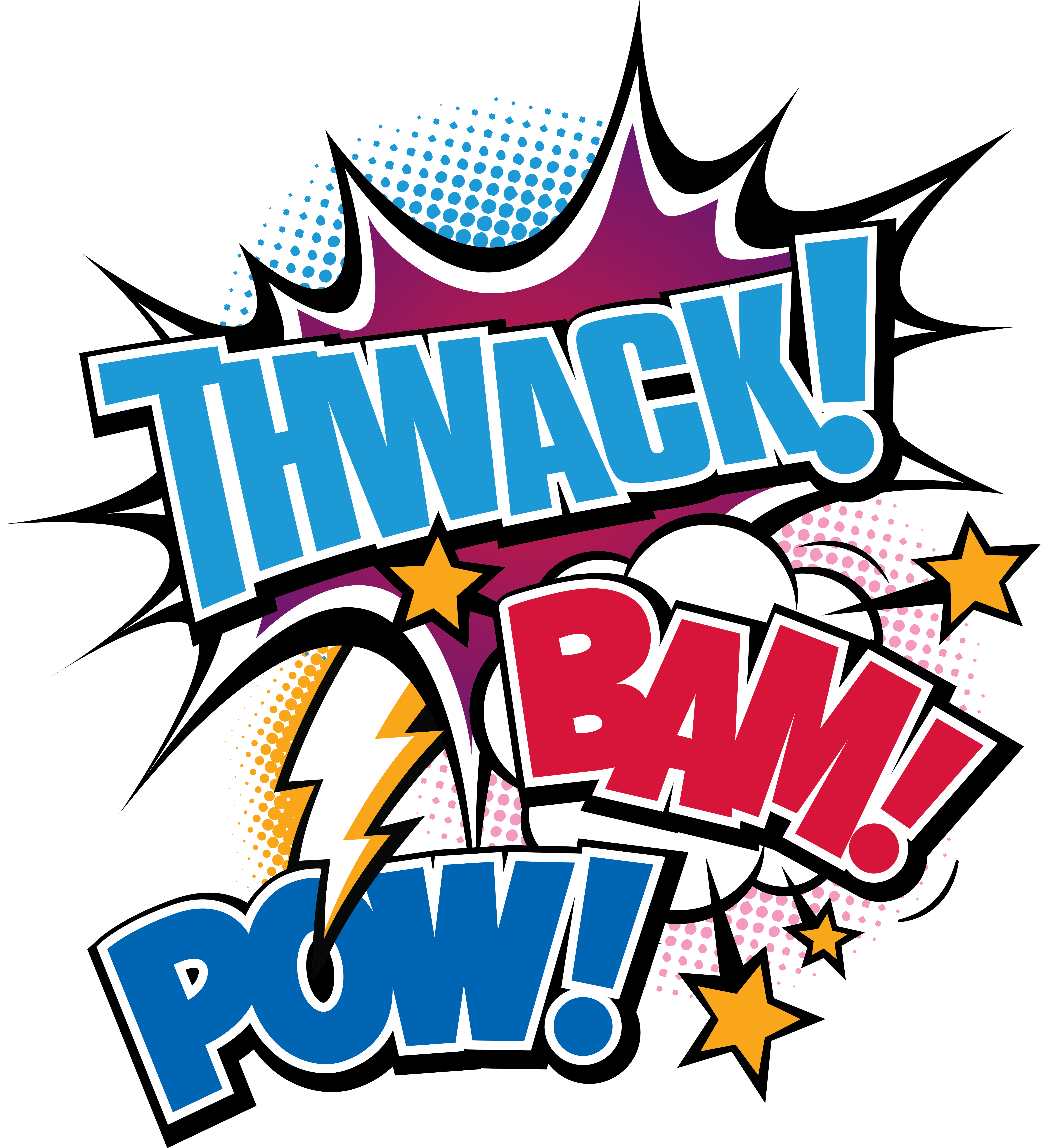 Twack bam color whatcomtalk. Pow logo png picture library stock