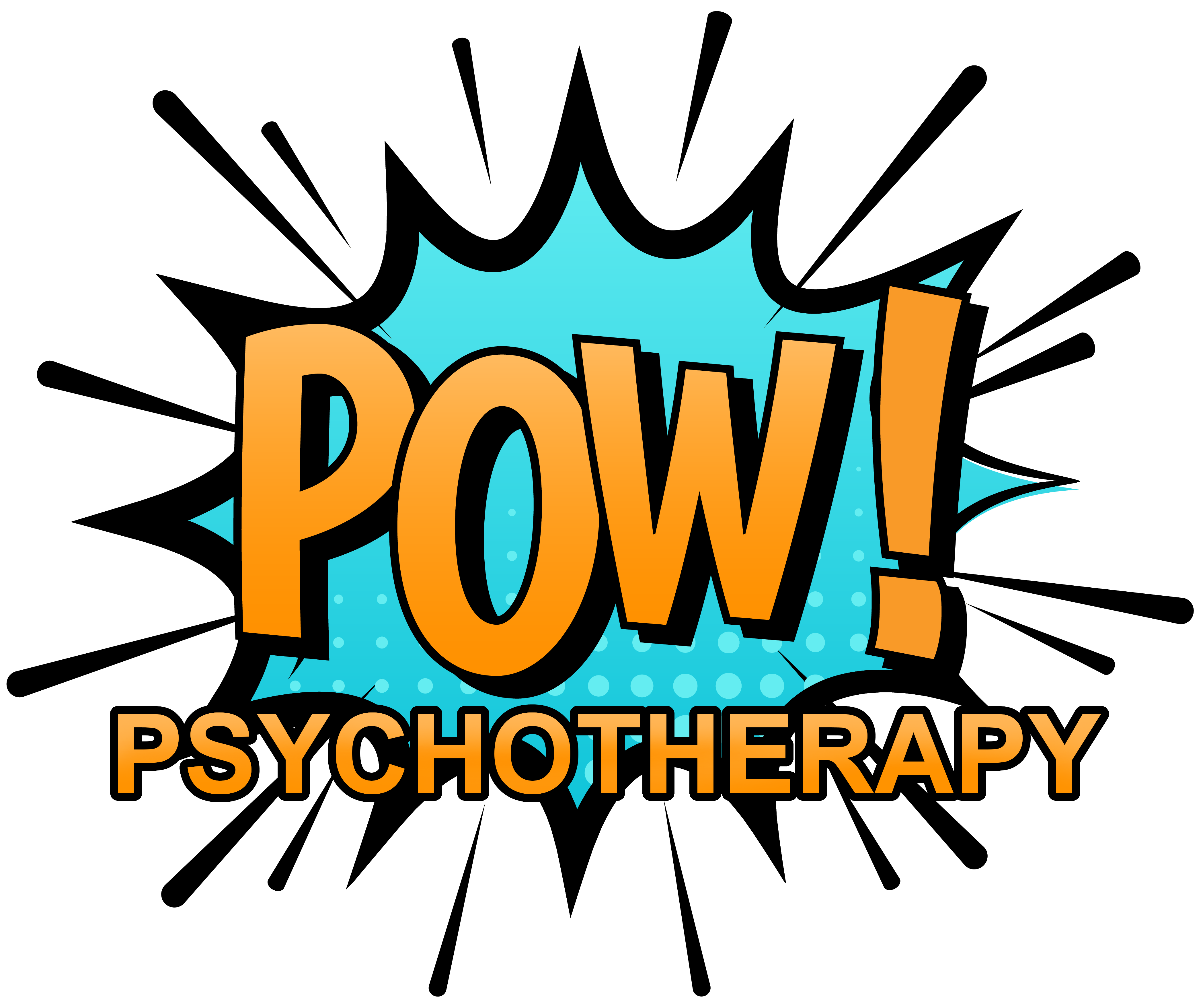 Psychotherapy . Pow logo png black and white download