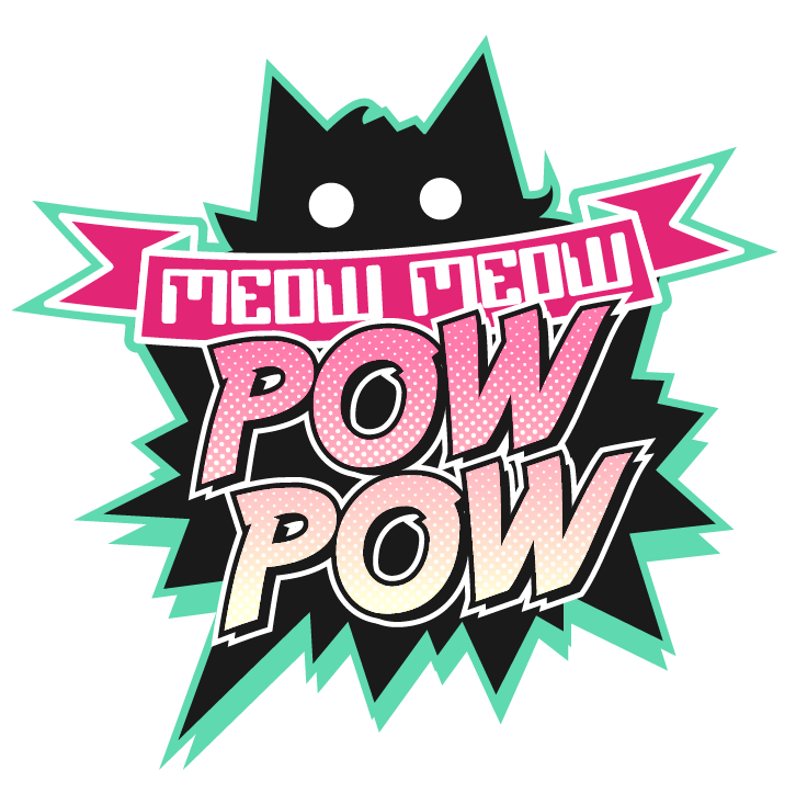 Submission guidelines meow pow. Pow! png pink black and white library