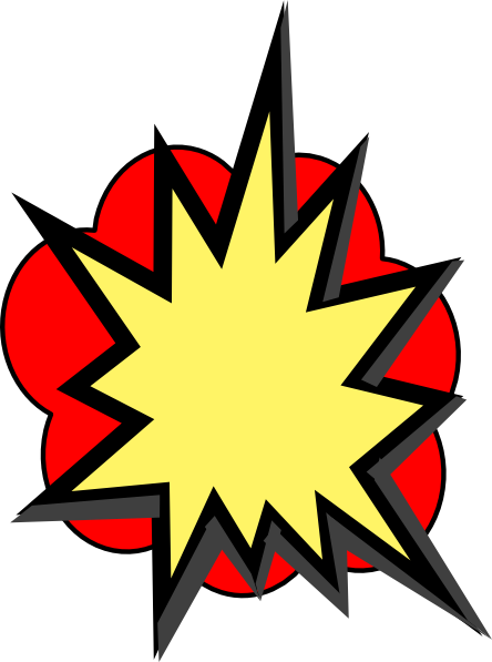 Pop vector boom. Collection of free bam