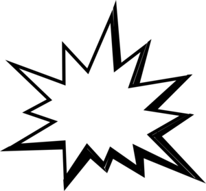 Pow! png explosion. Collection of free exploded