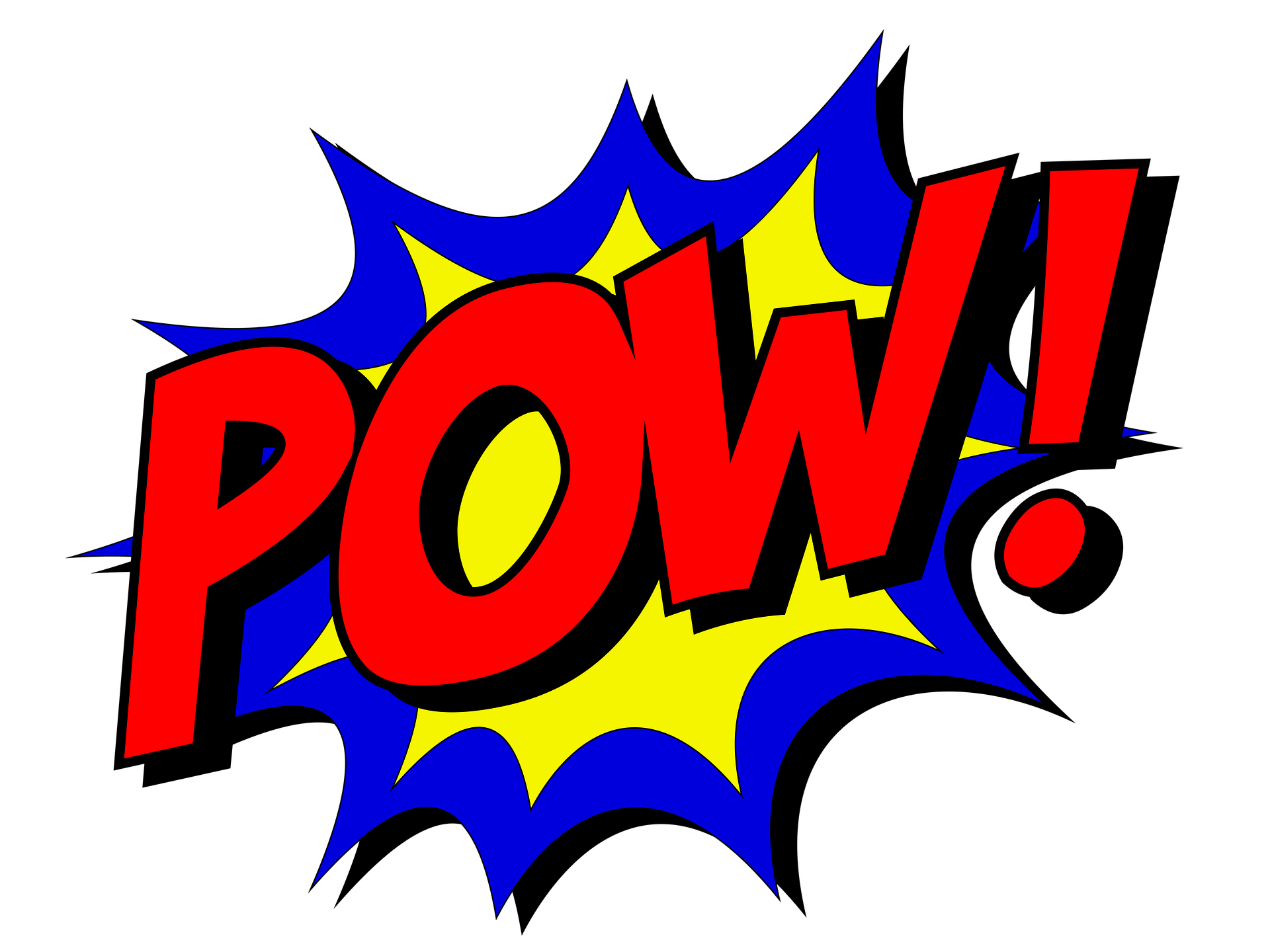 Pow! png phrase. Pack more punch in