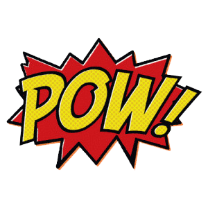 Pow! png pink. Image about pow in