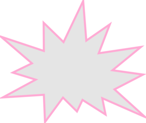 Comic book pow clip. Pow! png pink graphic royalty free