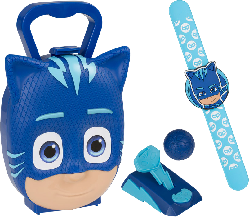 Pow! png pj mask. Masks catboy carry case