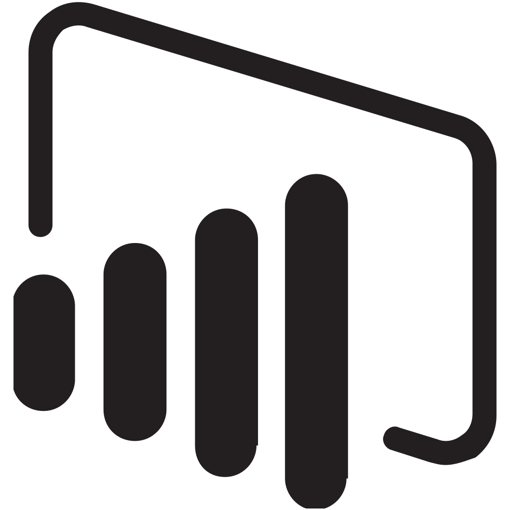 Power bi logo png. File black svg wikimedia