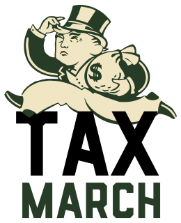 Taxes clipart government official. Tax march wikipedia
