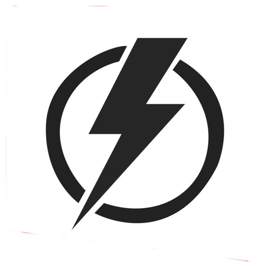 Power logo png. Energy lightning electric electricity