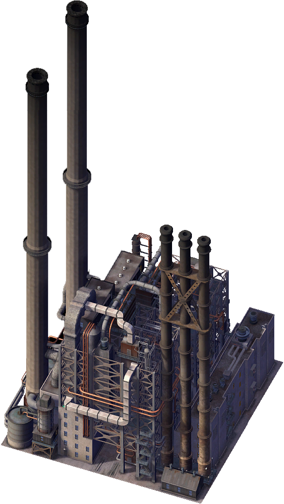 Power plant png. Image oil simcity encyclopaedia