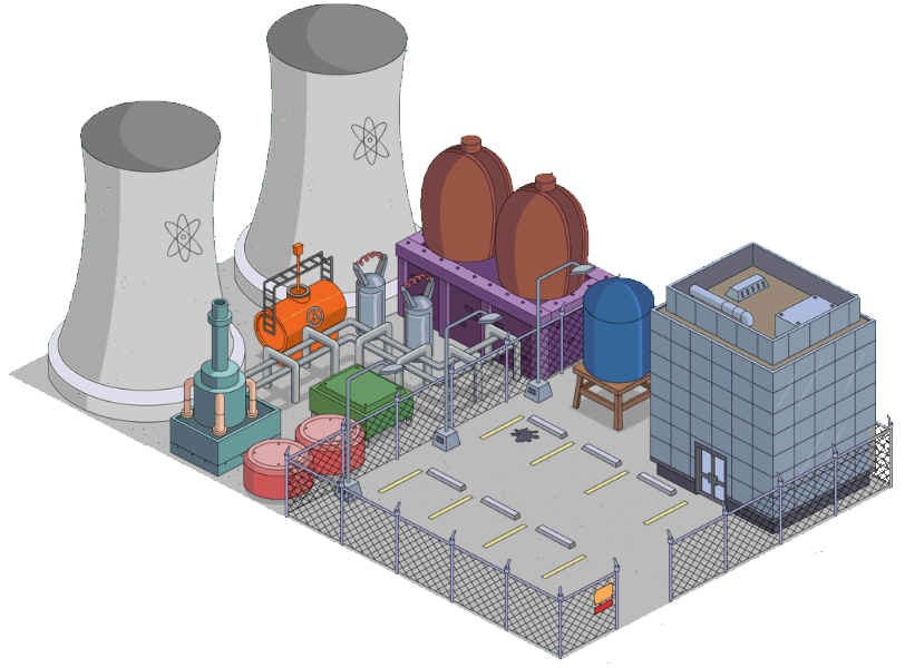 Power plant png. Image powerplant the simpsons