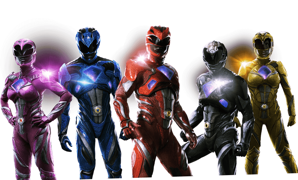 power rangers 2017 png