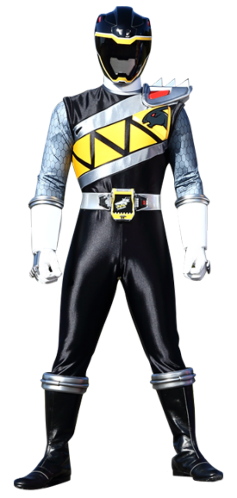 Power rangers dino charge png. Image black ranger kyoryu