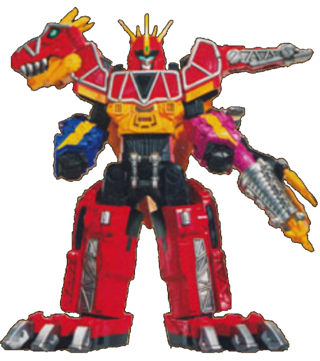 Power rangers dino charge png. Image megazord tri stego