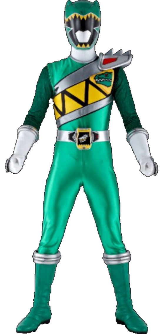 Power rangers dino charge png. Image green ranger kyoryu