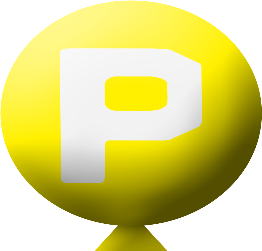 Power up png. Download p balloon image