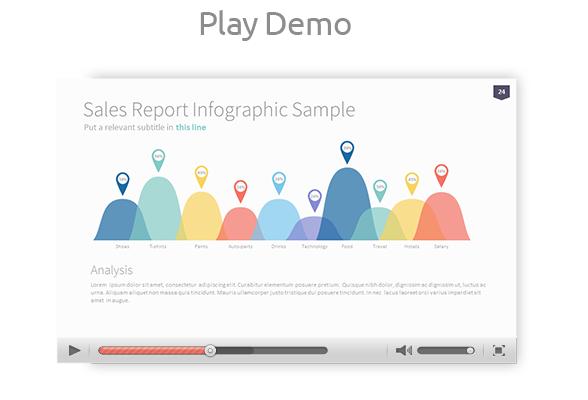 Powerpoint vector charts. Omoa ultimate multipurpose template