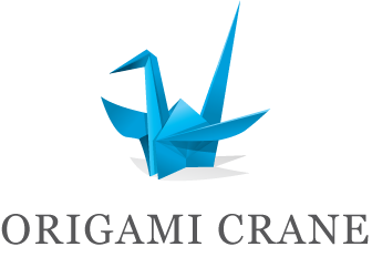 Powerpoint vector origami. Logo design tutorial free