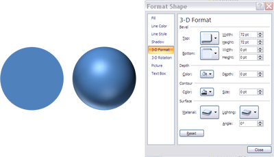 Ppt drawing spherical. In powerpoint spheres planets