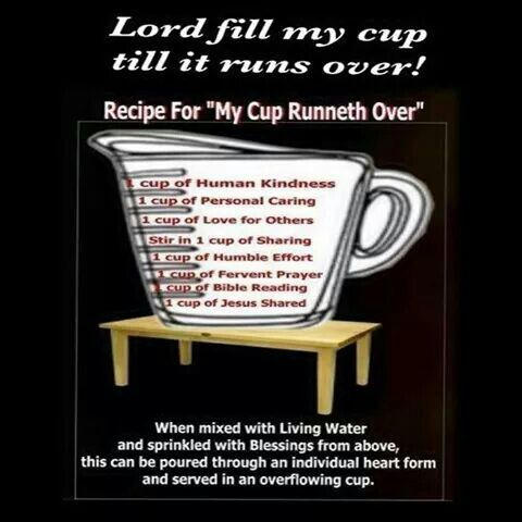 Praise clipart fill my cup lord. Best images on