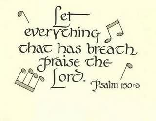 Praise clipart let everything that. Best the psalms