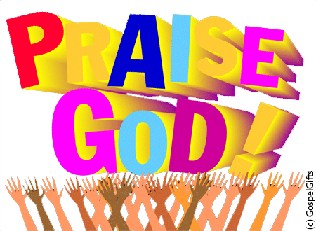Praise god png. Come sing to yahweh