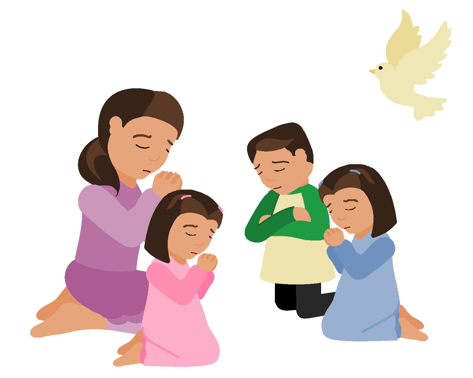 Prayer clipart. Better of child letters