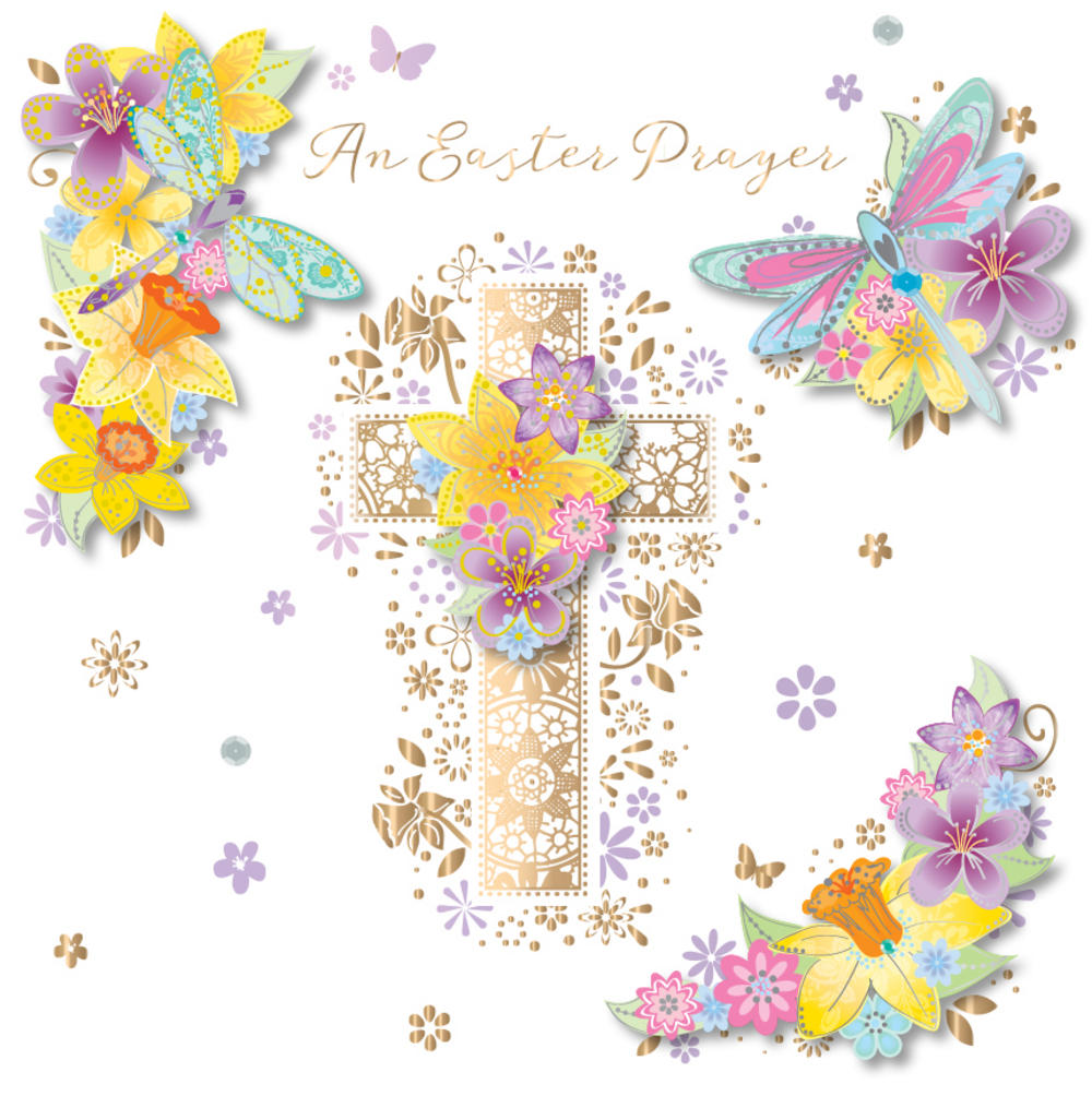 Prayer clipart easter. An greeting card cards