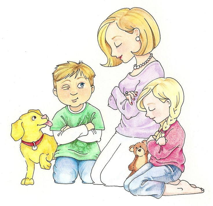 Prayer clipart family prayer. Best images on