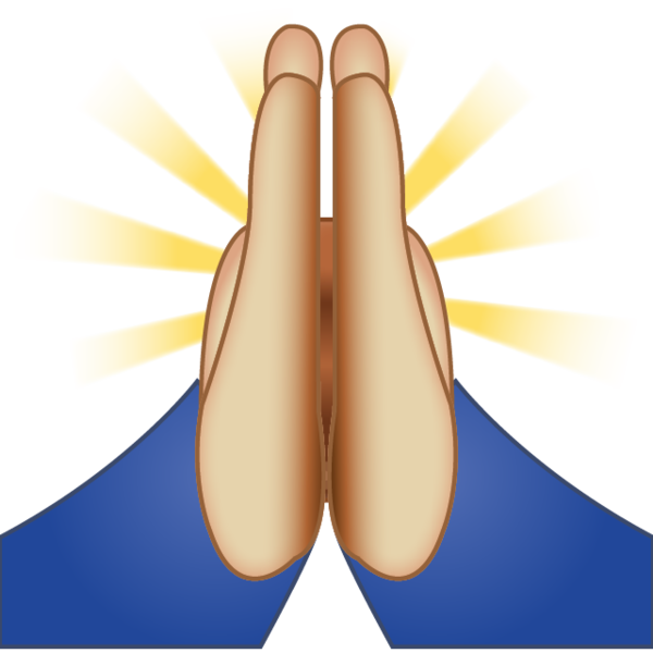 Prayer emoji png. Image pray for our