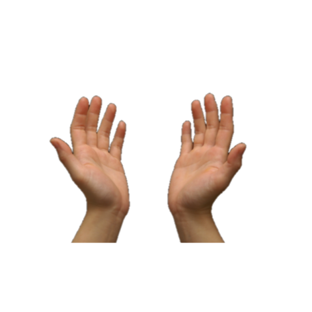 Prayer hands png. Two muslim and vector
