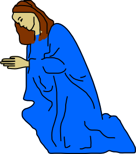 Prayer vector clip art. Praying asking god at