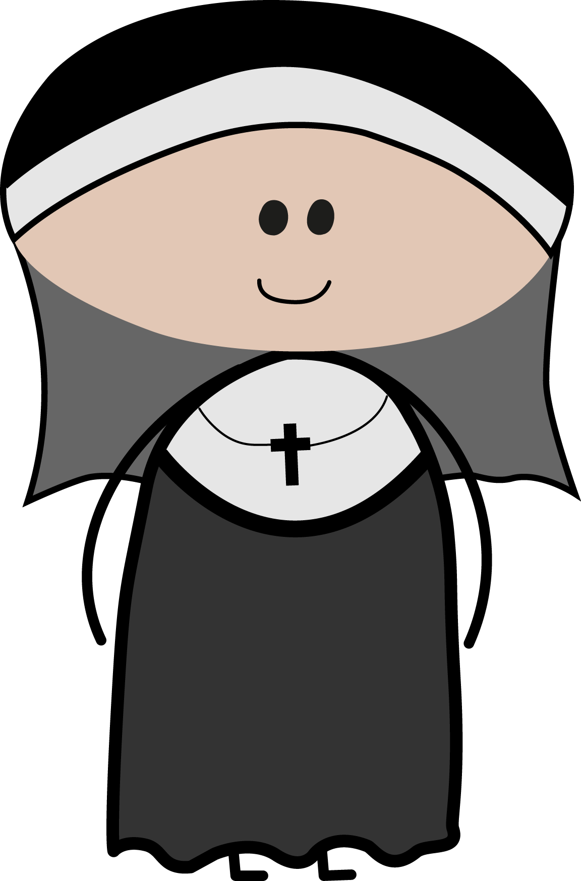 Prayer vector nuns. Cute nun clipart cliparts