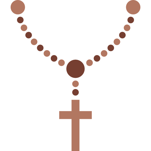 Prayer vector rosary. Graphic png huge