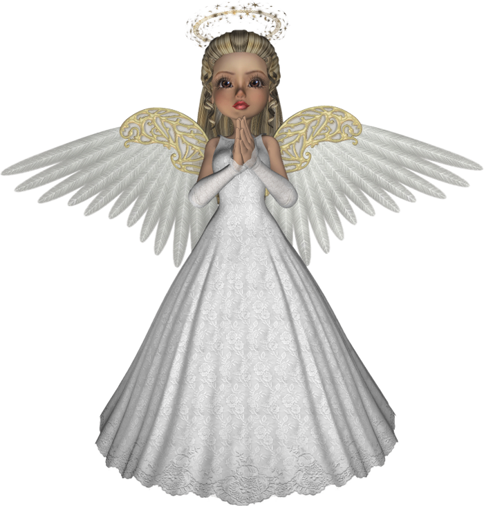 Praying angels png. Girl angel d picture