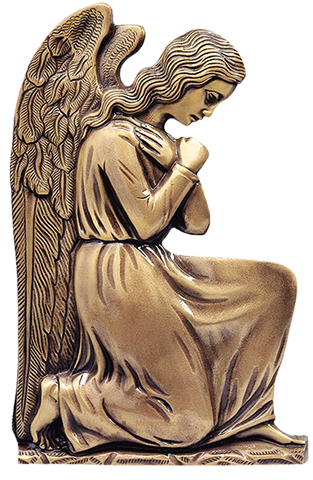 Praying angels png. Laser engraving infant cemetery