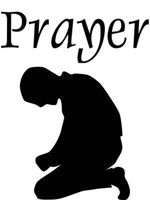 Free images clipartix . Prayer clipart png black and white