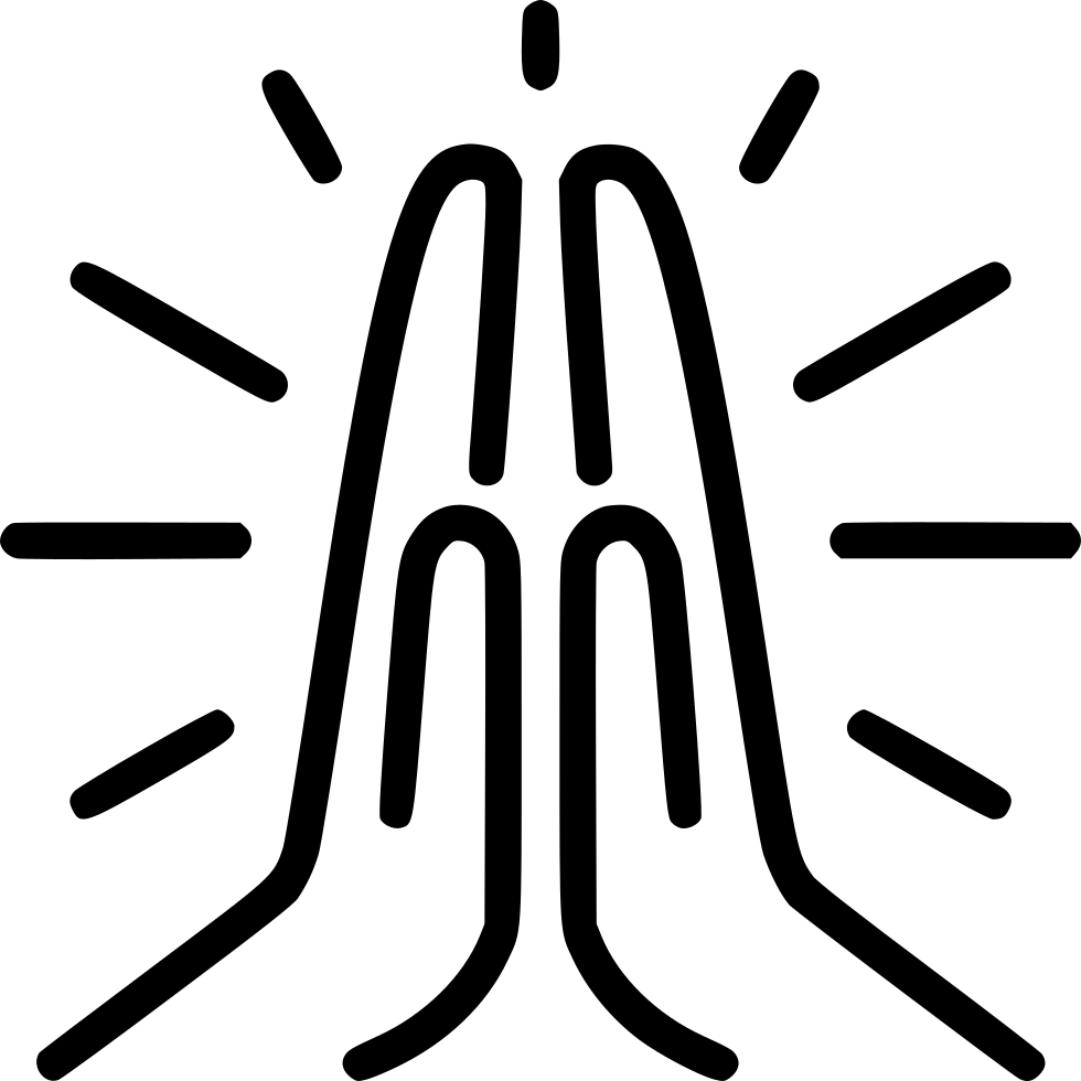 praying hands icon png