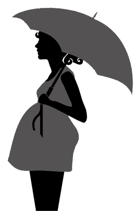 umbrella clip silhouette