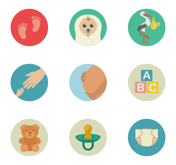 Pregnant vector maternity. Icons free babycare pregnancy