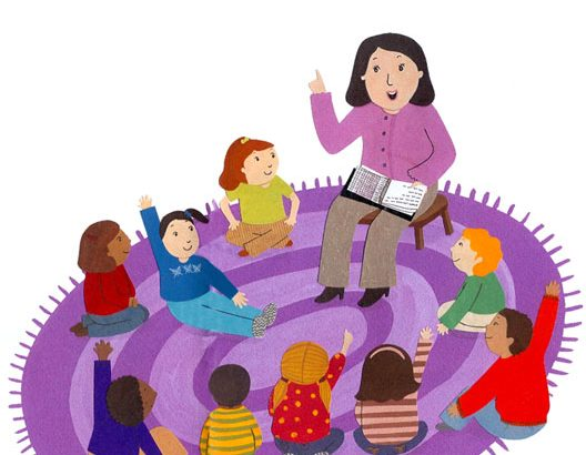 Preschool clipart circle time. Story dexter district library