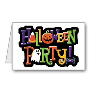 Preschool clipart halloween party. Biglietto di invito per