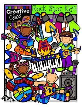 Preschool clipart rock. Star kids creative clips
