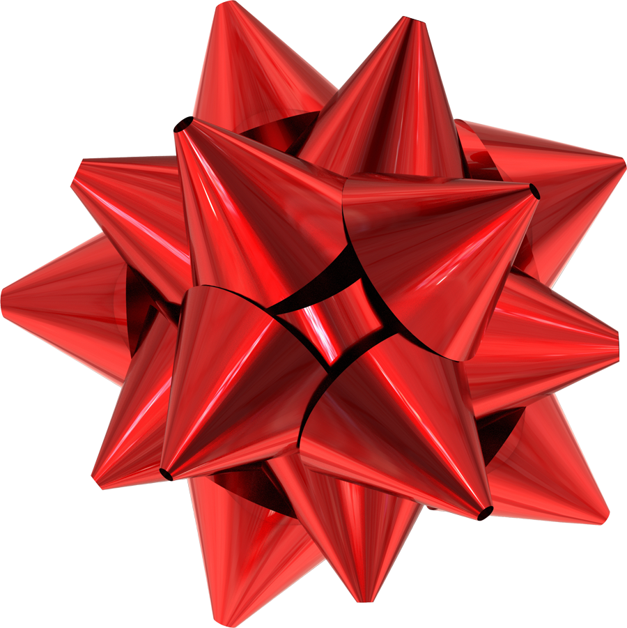 Present bow png. Collection of red