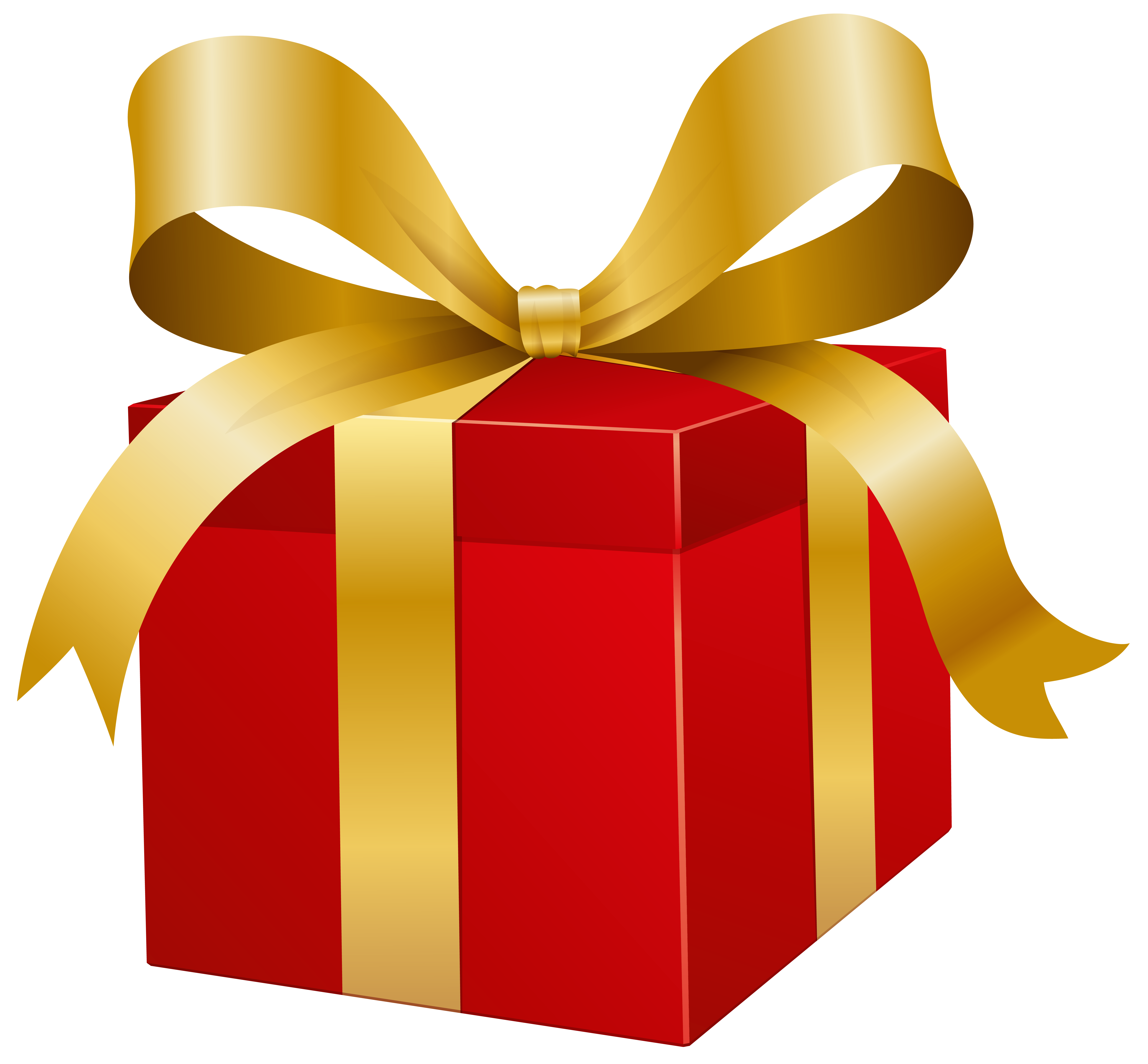Present gift png. Red box clip art