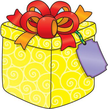 Presents clipart yellow. Present box at getdrawings
