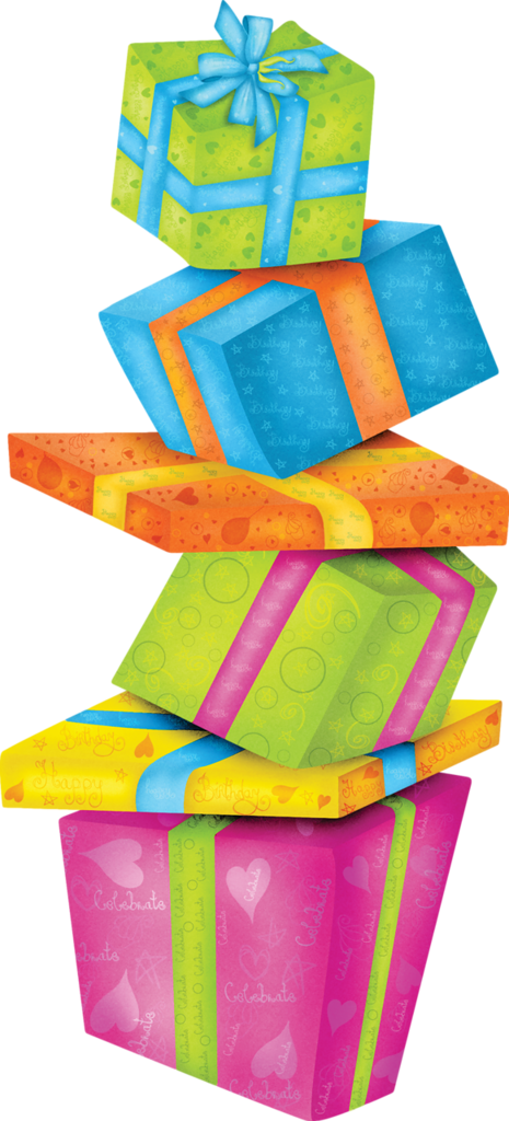Anelia celebration gifts png. Present clipart birthday stuff clipart stock