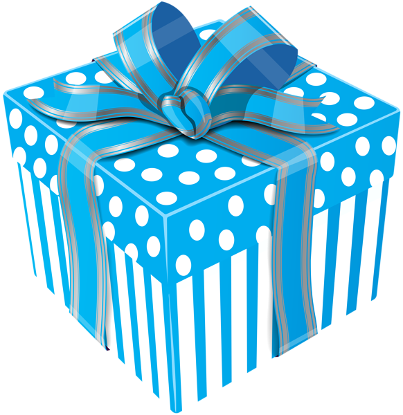 Present clipart blue present. Gift box at getdrawings