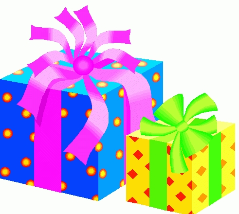Present clipart party. Birthday gifts flogfolioweekly animations