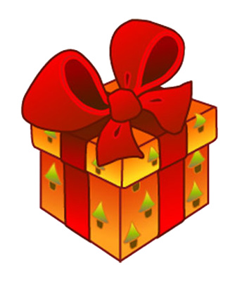 Present clipart small present. Cute christmas presents