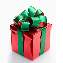 Present clipart wrapped present. Hollywood giftwrap tv tropes